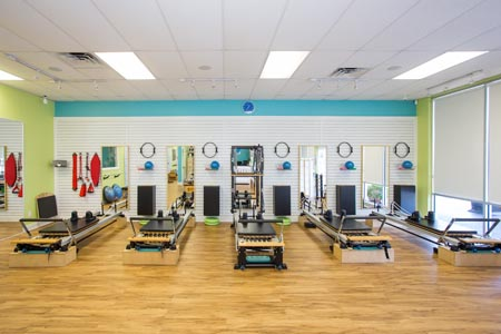 Group Reformer Pilates Classes